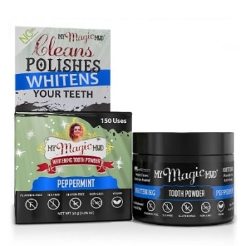 Charcoal Tooth Powder Peppermint by My Magic Mud
