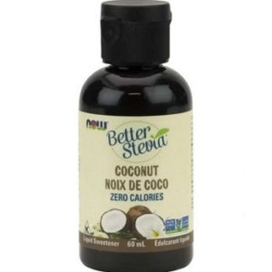 Better Stevia Coconut Liquid by Now Foods
