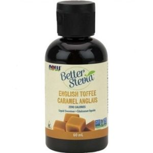Better Stevia English Toffee Liquid by Now Foods