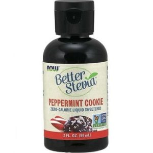 Better Stevia Liquid Peppermint Cookie by Now Foods
