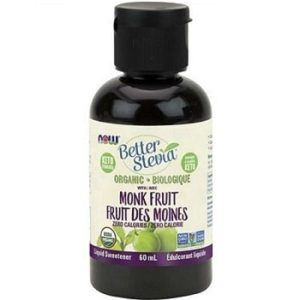 Organic Better Stevia with Monk Fruit