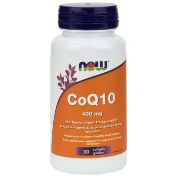 CoQ10 400 mg Softgels by Now Foods