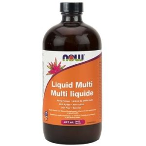 Adults' Liquid Multi Berry by Now Foods