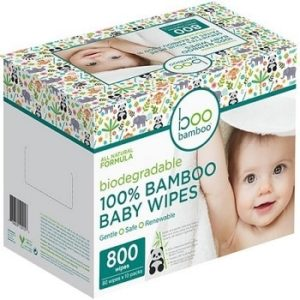 Biodegradable Bamboo Baby Wipes Value Box