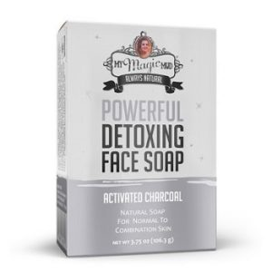 Charcoal Detoxing Face Soap by My Magic Mud