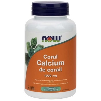 Coral Calcium 1,000 mg Veg Capsules by Now Foods