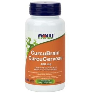CurcuBrain™ 400 mg Veg Capsules by Now Foods