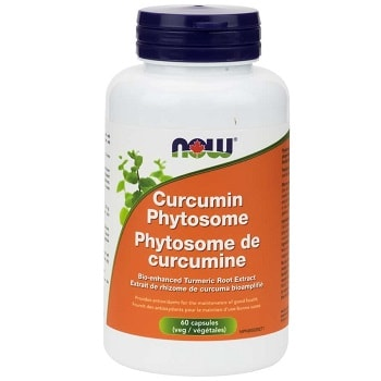 Curcumin Phytosome Veg Capsules by Now Foods