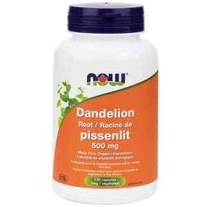Dandelion Root 500 mg Capsules by Now Foods
