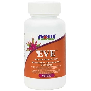 EVE Women's Multi Softgels by Now Foods