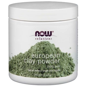 European Clay Powder by Now Foods