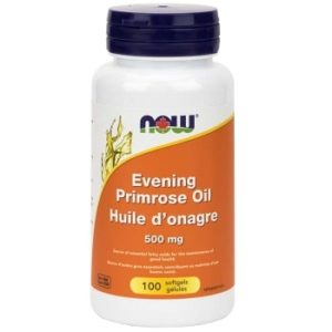 Evening Primrose Oil 500 mg Softgels by Now Foods