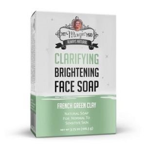 Green Clay Brightening Face Soap by Magic Mud