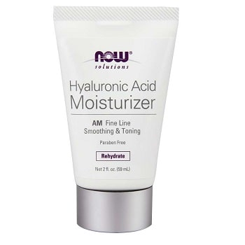 Hyaluronic Acid Moisturizer AM by Now Foods