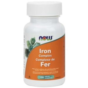 Iron Complex Tablets by Now Foods