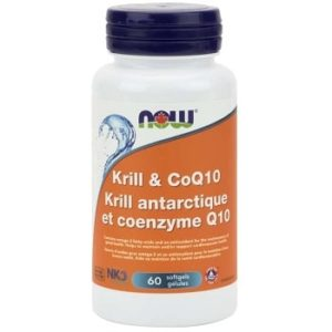Krill & CoQ10 Softgels by Now Foods