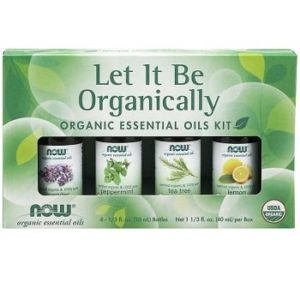 Let It Be Organically Essential Oils Kit by Now Foods