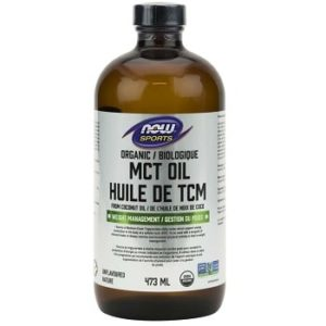 MCT Oil, Organic Coconut source by Now Foods