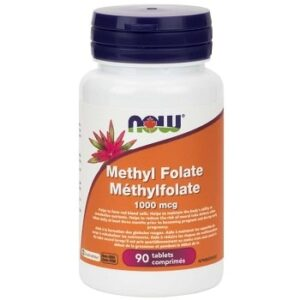 Methyl Folate 1000mcg Tablets by Now Foods