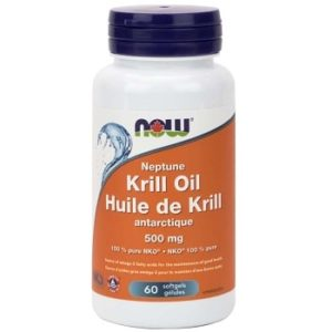 Neptune Krill Oil 500 mg Softgels by Now Foods
