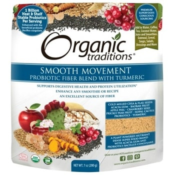 Probiotic Smooth Movements with Tumeric
