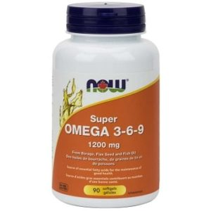 Super Omega 3-6-9 1,200 mg Softgels by Now Foods