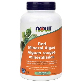 Red Mineral Algae by Now Foods