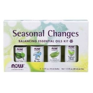 Seasonal Changes Balancing Essential Oils Kit by Now Foods