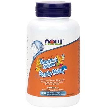 Squishy Fishies Omega-3 Softgels by Now Foods