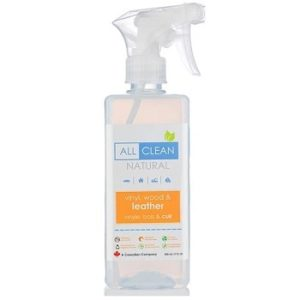 Vinyl Wood & Leather Cleaner by All Clean Natural