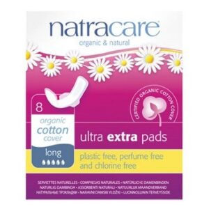 Ultra Extra Long Period Pads Natracare