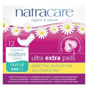 Ultra Extra Normal Period Pads Natracare